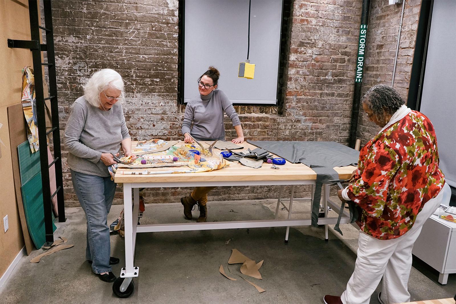 Fiber arts studio 2